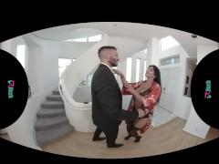 VRHUSH Romi Rain Fucked while her Husbands away