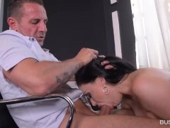 Aletta Ocean Grabs her College for a Quick Fuck