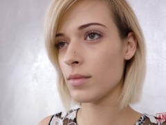 ANALIZED - CUTE BLONDE RIA SUNN GETS HER ASSHOLE FUCKED AND CREAMPIED