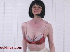 FFstockings - Pee Confessions by a Mature Julia