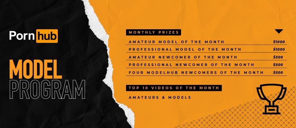 Model Program - Monthly Prizes August 2021 Banner