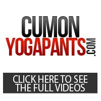 Cum On Yoga Pants