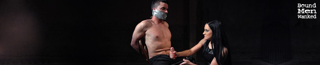 Bound Men Wanked