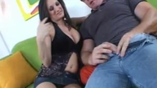 Mom Catches Teen Masturbating In Kitchen