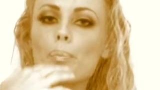 Anita sensual dark shower pornstar tits