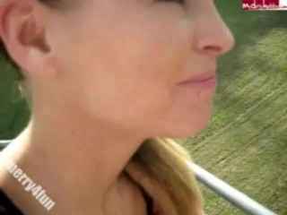 Merry4Fun – Cable Way Blowjob
