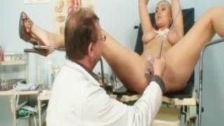 Busty Alexa Bold Gyno Exam And Tits Bondage At Kinky Gyno Clinic