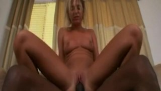 Jaelyn sucks and fucks a big black dick