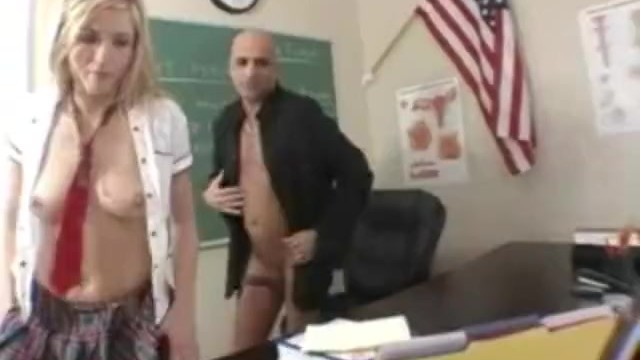 Celebrity sexy teeth information - Hot blonde student sucking and fucking her teacher