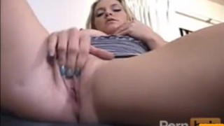 She tastes her pussy on her toys
