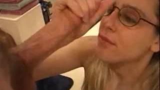 Heather. I Deep Throat. Cums on Glasses