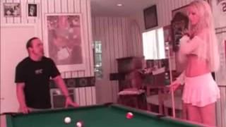 Cailey Taylor - Pool Shark - Scene 5 Threesome striptease