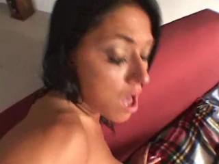 Dillan Lauren hot anal threesome