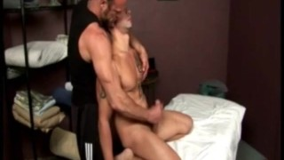 Porn Star Gets A Massage