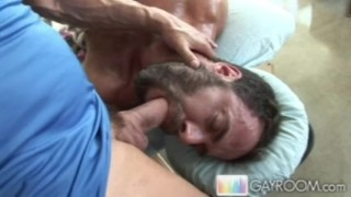 Cock meatp oily ass cock