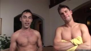 Rockedp curious gets cock hardcore guys