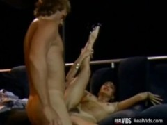 Hot chick gets her pussy slammed
