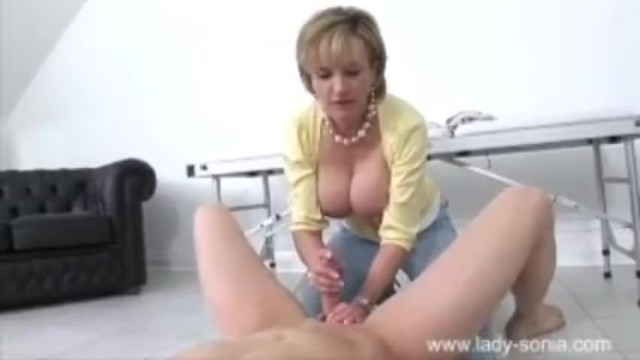 Free british porn lady sonia movies - Lady sonia teases young stud