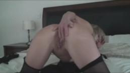 Busty Blonde Milf Gets Naughty