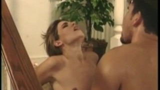 Hammered on gets stairs sexy deep girl realvids.com brunette