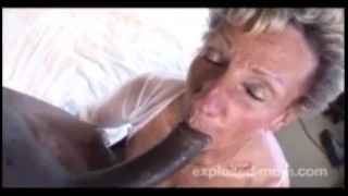 76 Year Old Granny Fucks Blacks porno