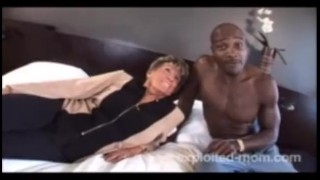 76 Year Old Granny Fucks Blacks Escort big