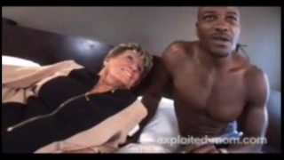 76 Year Old Granny Fucks Blacks