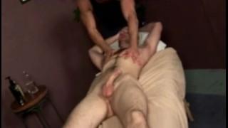 Tug and rub suck sclip hand