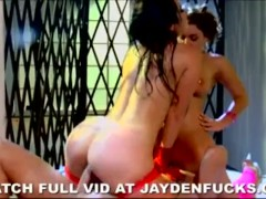 Jayden and Natasha Team Up on a Dick