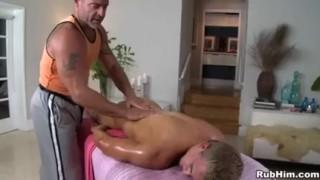 Blondie for massage sclip gay