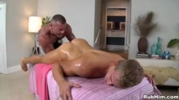 Athletic Blonde Gets Fucked At Massage