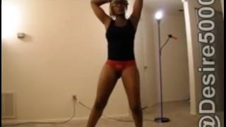 Girl college handjob wonderful gives ebony booty