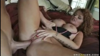 Redhead di wife ass big milf fuck lingerie creampie mom tit big orgasm big