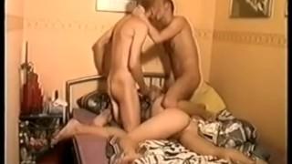 Hot Twink Threesome Cum Fiesta