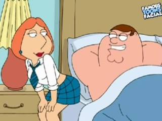 Preview 1 of Peter and Lois Griffin from Family Guy having sex