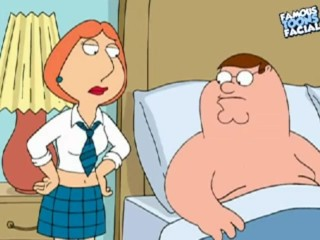 Preview 2 of Peter and Lois Griffin from Family Guy having sex