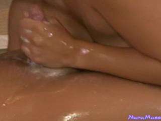 Japanese Masseuse Gives a Full Service Massage