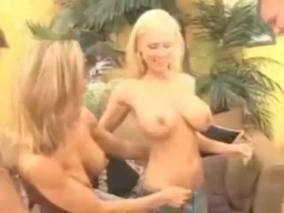 Preview 5 of Brandi Love and Allie get naughty at Swinger Party