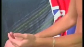 British  guys live scene brit jerking