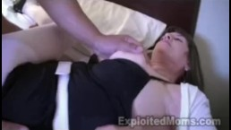 60 yr old Grandma Takes Big Black Cock in Interracial Video