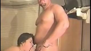 Angela B Gives a Nasty Blowjob Point female