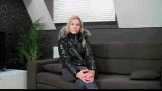 Preview 1 of FakeAgent Hot girl on my casting couch
