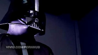 Preview 2 of Darth Vader Getting A Blowjob From Princess Leia Parody