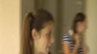 Preview 1 of Awesome Two Girl Teen Handjob