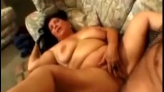 Mature and on fucked jizzed honey chubby mature