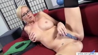 big boob milf eagerly works his sister pussy on the office