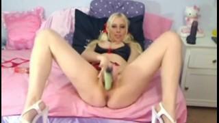 Cute Blonde Self Service HD