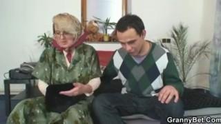 He bangs old widow hard