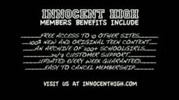 InnocentHigh Gia Steel hot small tits latina schoolgirl teen hard