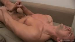 Jordan's creamy cumshot